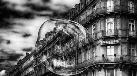 la bulle immobilière (photographie : Dave Ruiz)