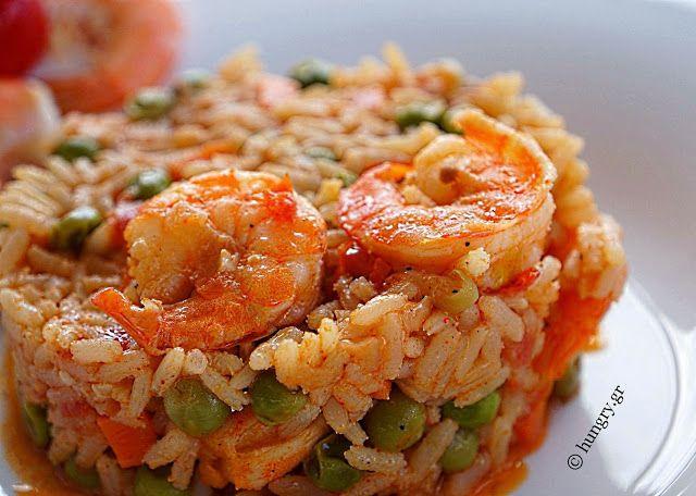 Kitchen Stori.es: Πιλάφι με Γαρίδες