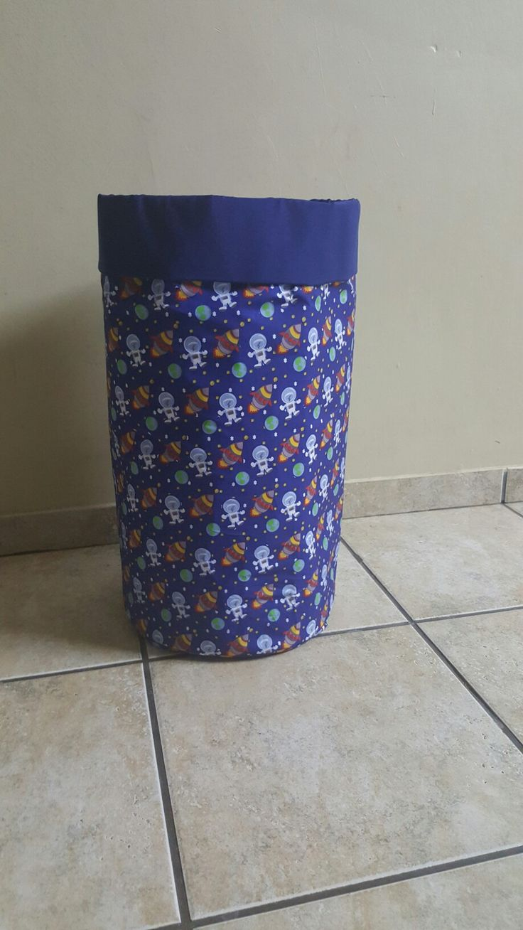 Custom made laundry bin