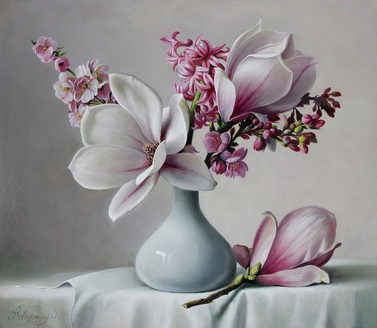 Pieter Wagemans: Artist Website - I am in love with the flower paintings!