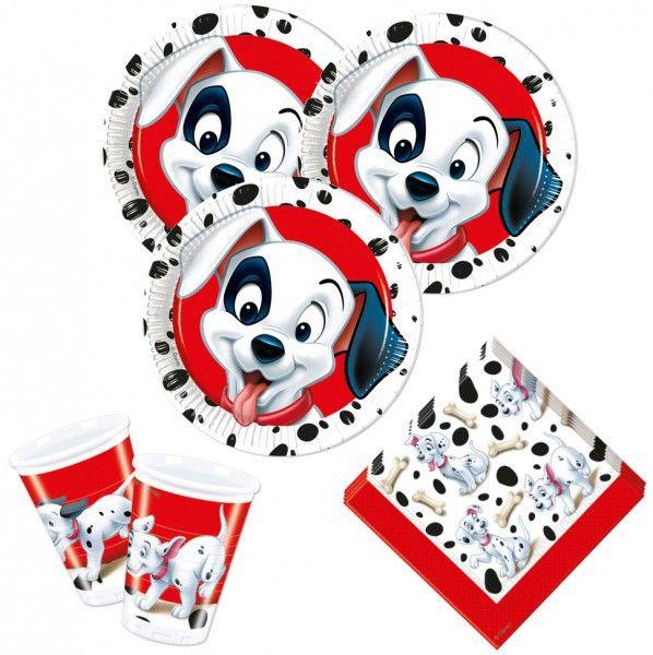 52 Teile Disneyu0027s 101 Dalamtiner Party Deko Set Für 16 Kinder Zum  Kindergeburtstag Oder Die Mottoparty. Aktionsangebot   Geld Sparen Und  Gleich Das Ganze ...