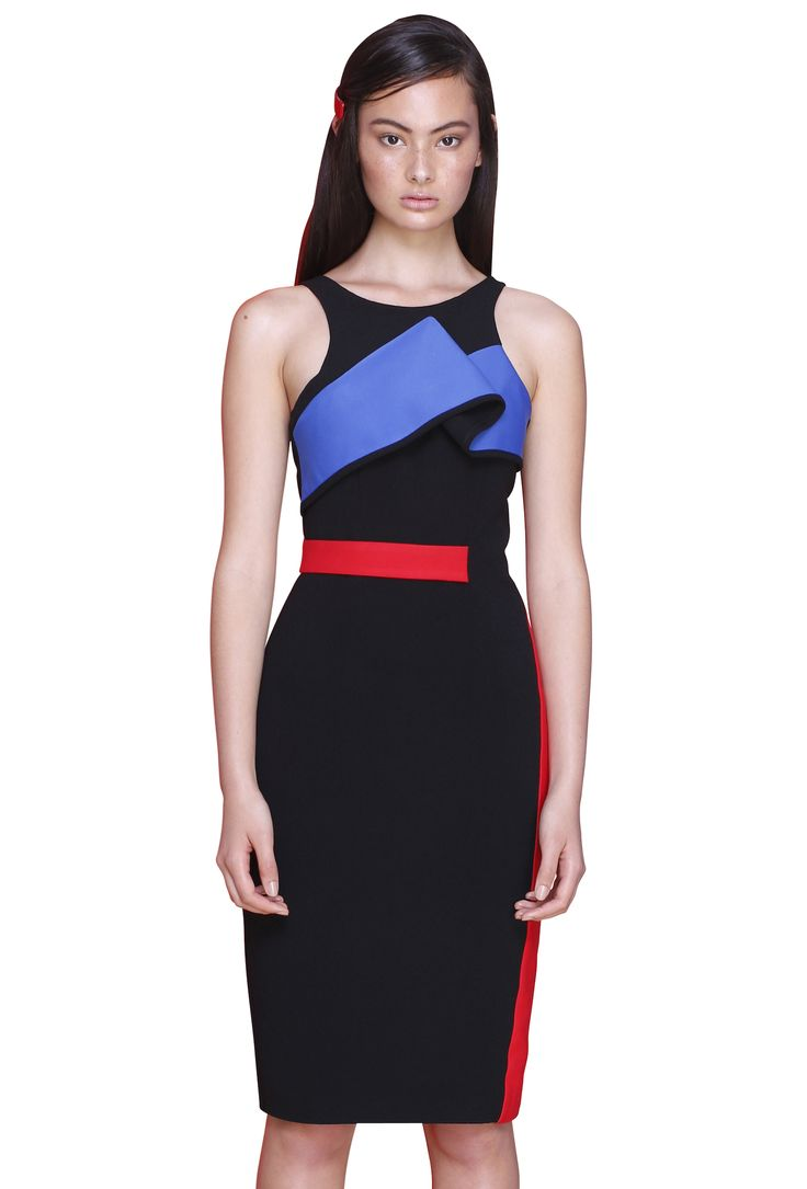 PRIMARY RIBBON DRESS  #byjohnny #abstrACTION #SPRING2015 #AUSTRALIANFASHION