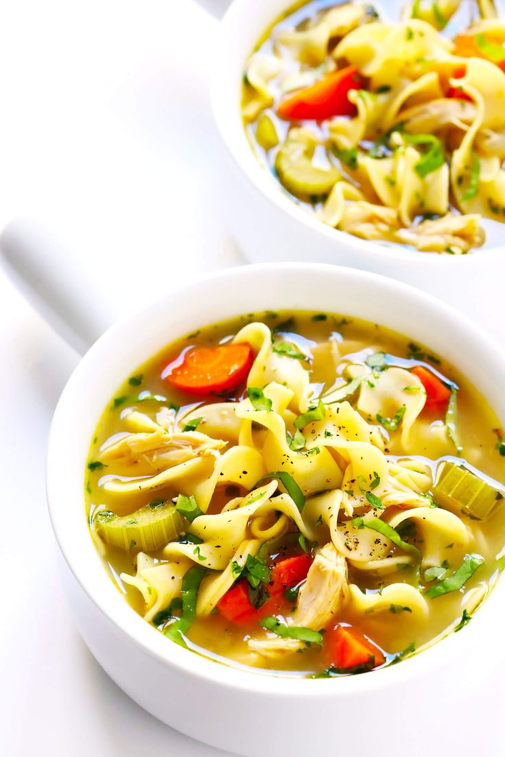 HerbLoaded Chicken Noodle Soup Gimme Some Oven Recipe