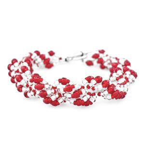 Peppermint Twist Bracelet | Fusion Beads Inspiration Gallery
