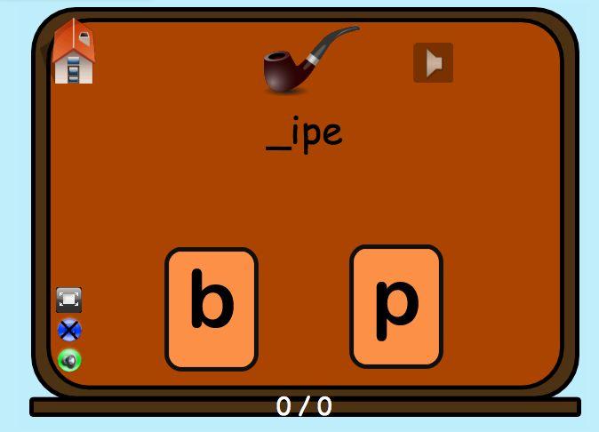 9 jeux éducatifs en ligne sur les confusions de sons au primaire.