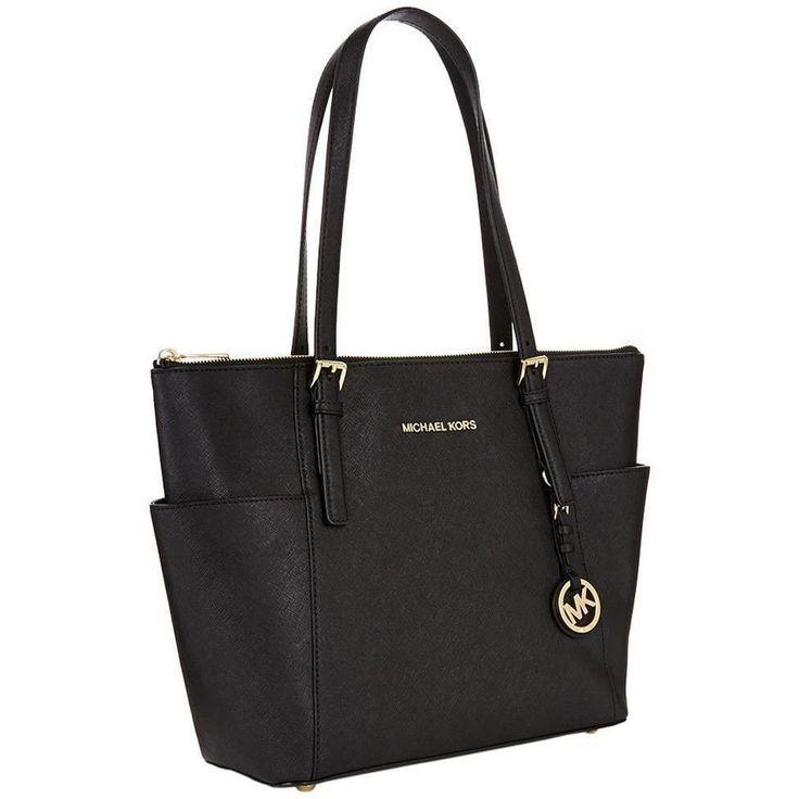 Michael Kors Jet Set Pocketed Top Zip Tote Bag http://feedproxy.google.com/WomenBags1