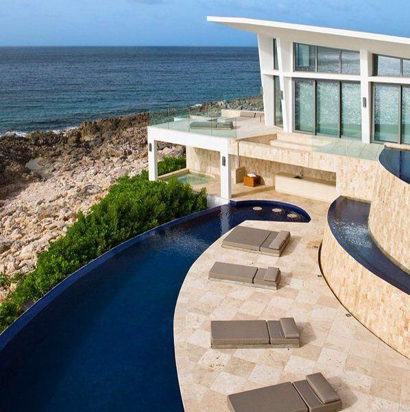 Caribbean Beach House For The Home Pinterest