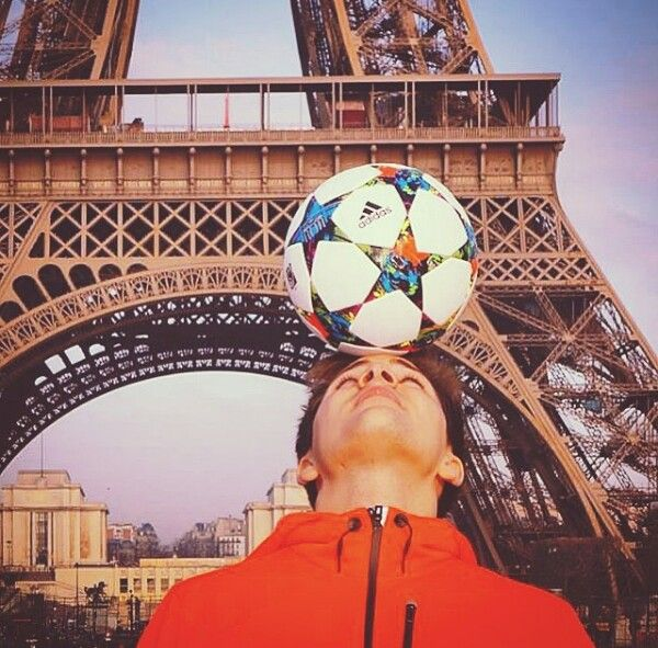 #paris #freestyle #soccer #skilltwins