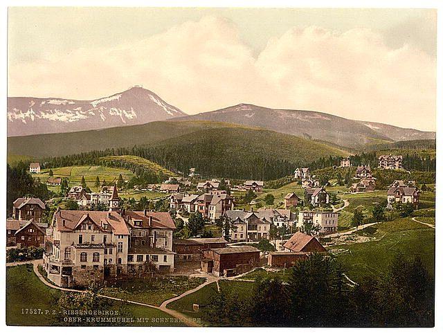 [Krummhubel and Schneekoppe, Riesengebirge, Germany (i.e., Karpacz, Poland)]