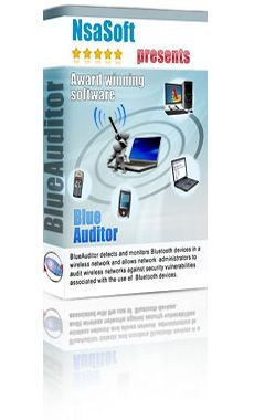 July 24, 2012  -- Nsasoft release BlueAuditor 1.4.9 . The new version allows monitoring and scanning mobile devices in a wireless network. Product Page - http://www.nsauditor.com/bluetooth_network_scanner.html