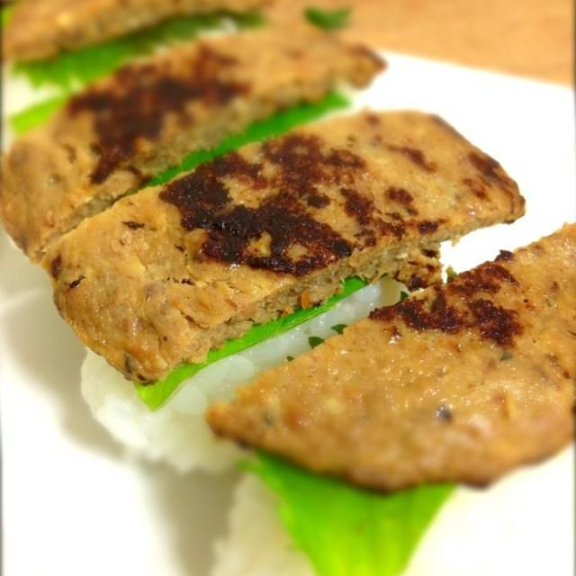 美味しくなるか半信半疑でやってみましたが美味しくできました!(≧∀≦) 朝から頑張った!(๑✧◡✧๑) - 112件のもぐもぐ - 薄焼きいわしつみれの握り寿司 by shinjiterao