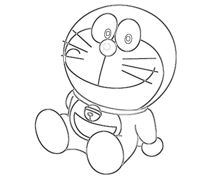 At A Good Time I Will Give You Lot Of Pictures On Coloring Pages Namely Doraemon Drawing For Kids Children Can Develop Their