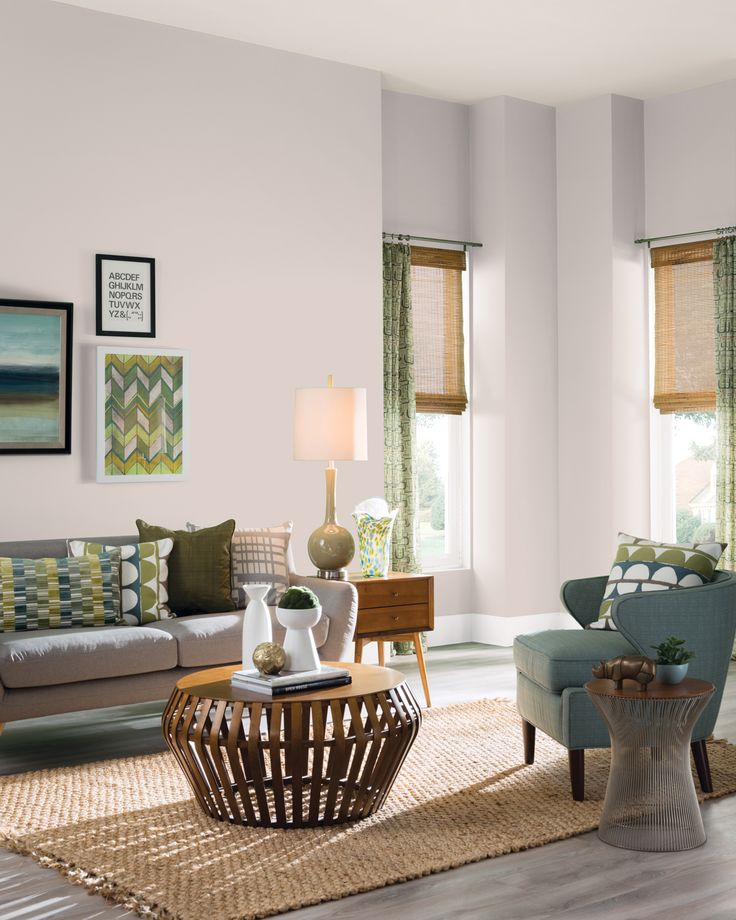 Neutral Walls Make It Easy To Dress Up Any Room With Art And Accents Try