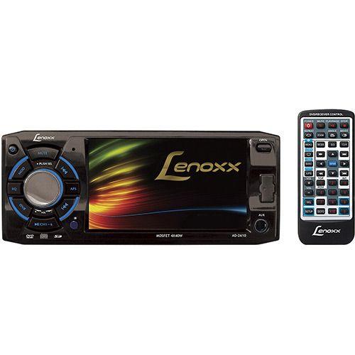 Americanas DVD Player Automotivo Lenoxx AD 2610 Tela 4.3 com Rádio FM e Entradas USB e SD -R$ 277 BOLETO