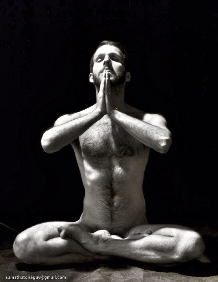 Male Sexy Nude Yoga 84