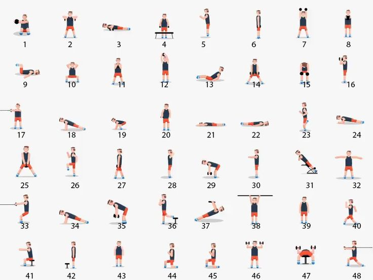 Here Are 48 Body weight Exercises That Will Help You Meet All Your Fitness Goals! 🍑💪 #Gymshark #Gym #bodyweight  #Fitness #Exercises #Tryathome #athomeworkout #Sweat #Cardio #AbExercises #Abs