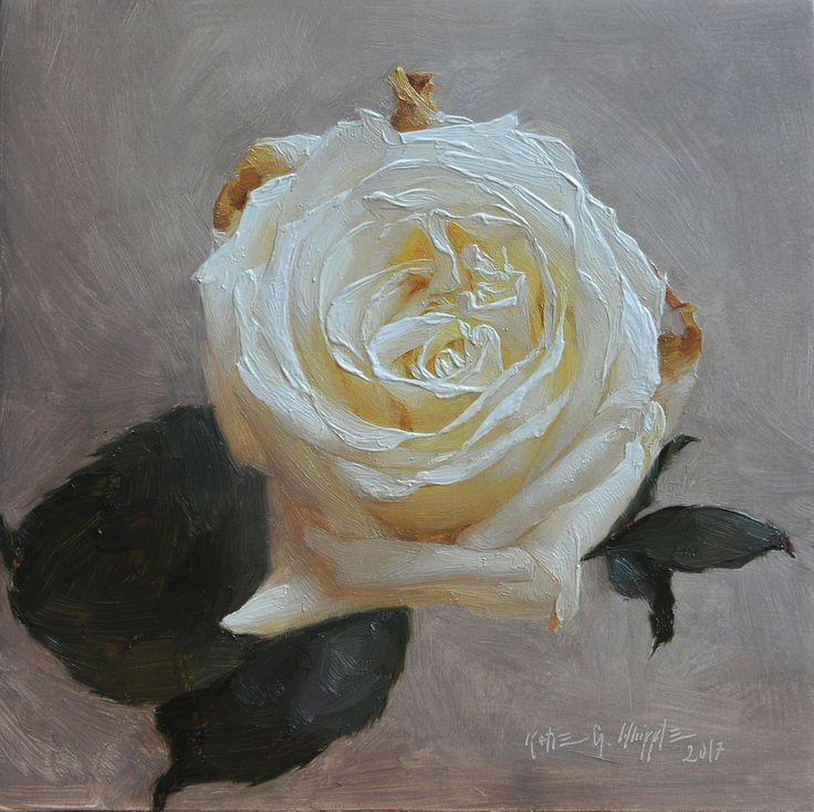 How to Paint a Rose in 8 Steps   #rosepainting #paintingtips