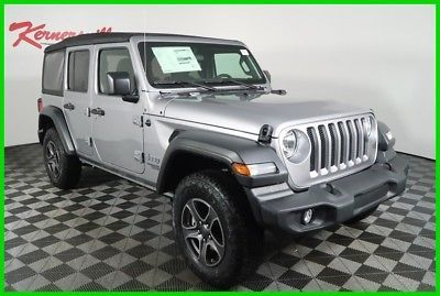 2018 Jeep Wrangler Sport 4WD 3.6L V6 SUV Backup Camera Cloth Seats 2018 Jeep Wrangler Unlimited Sport 4WD 3.6L V6 SUV Backup Camera Cloth…