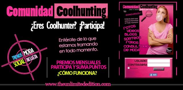 Comunidad Coolhunting, los Coolhunters en la red