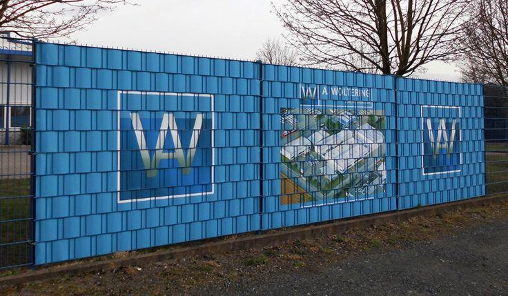 DHW, met in Nederland de grootste keuze in paparazzi-hekwerkbekleding.  Ook voor bedrijven, eventueel bedrukt met bedrijfslogo, reclameboodschap of productpresentatie.