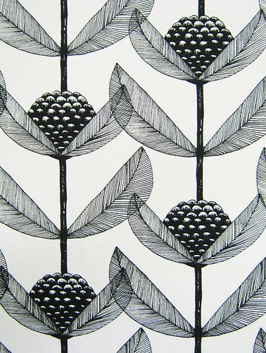 #Scandinavian #Fabric Kinnamark #patterns #print #floral