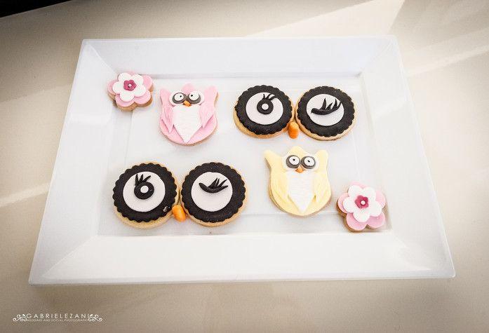 BABY SHOWER cookies owls WWW.DOLCICHICCHEDIANTONELLA.COM