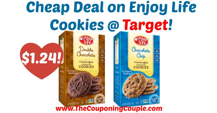If you are wanting cheap snacks, this is a great deal to pick up! Cheap Deal on Enjoy Life Cookies @ Target!  Click the link below to get all of the details ► http://www.thecouponingcouple.com/cheap-deal-on-enjoy-life-cookies-target/ #Coupons #Couponing #CouponCommunity  Visit us at http://www.thecouponingcouple.com for more great posts!