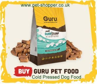 Guru Cold Pressed Dog Food. Guru Pet Food. It's the closest food to a natural balanced diet you can provide for your dog and gives them all the great nutrients they need to stay healthy and thrive.