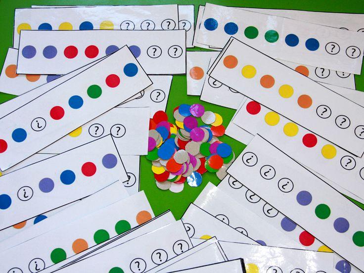 Математические игры для детского сада своими руками