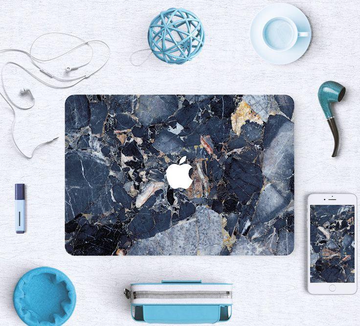 Macbook Decal Sticker - Blue Marble