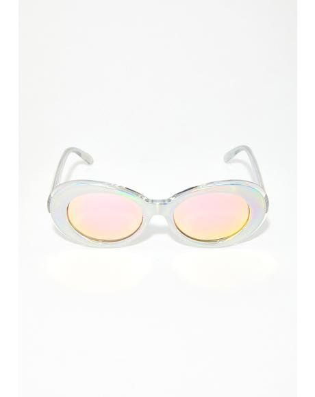 33f9dd7bf7 Cosmic Doll Holographic Sunglasses