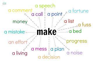 Funglish: Confusing verbs (take, make, do, have)