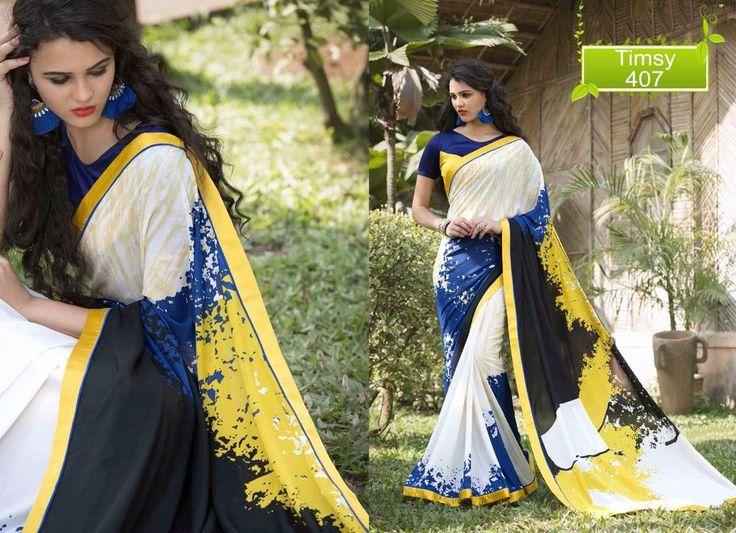 Pakistani Partywear Ethnic Dress Bollywood Saree Wedding Sari Designer Indian #TanishiFashion #DesignerSaree