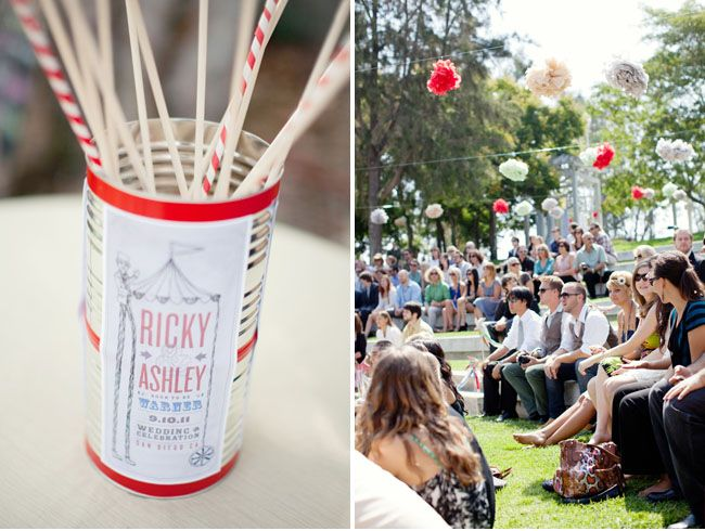 A Handmade Vintage Circus Wedding: Ashley + Ricky – Part 1