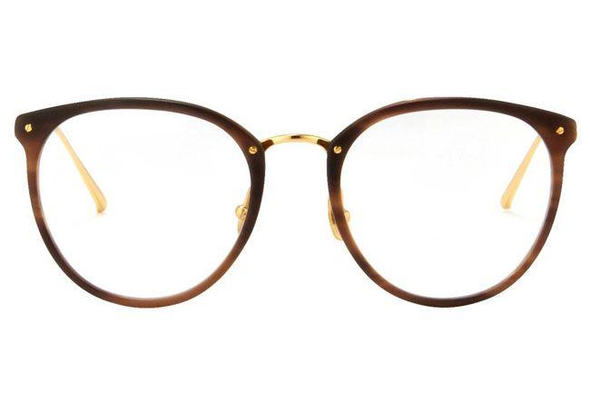 18 Stylishly Smart Glasses for Back-to-School: Linda Farrow Glasses, $620