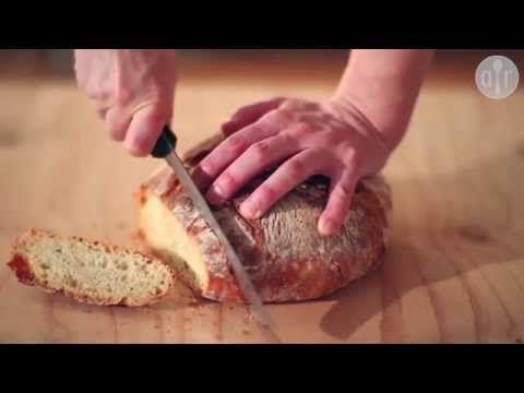 Домашний хлеб без замеса - YouTube
