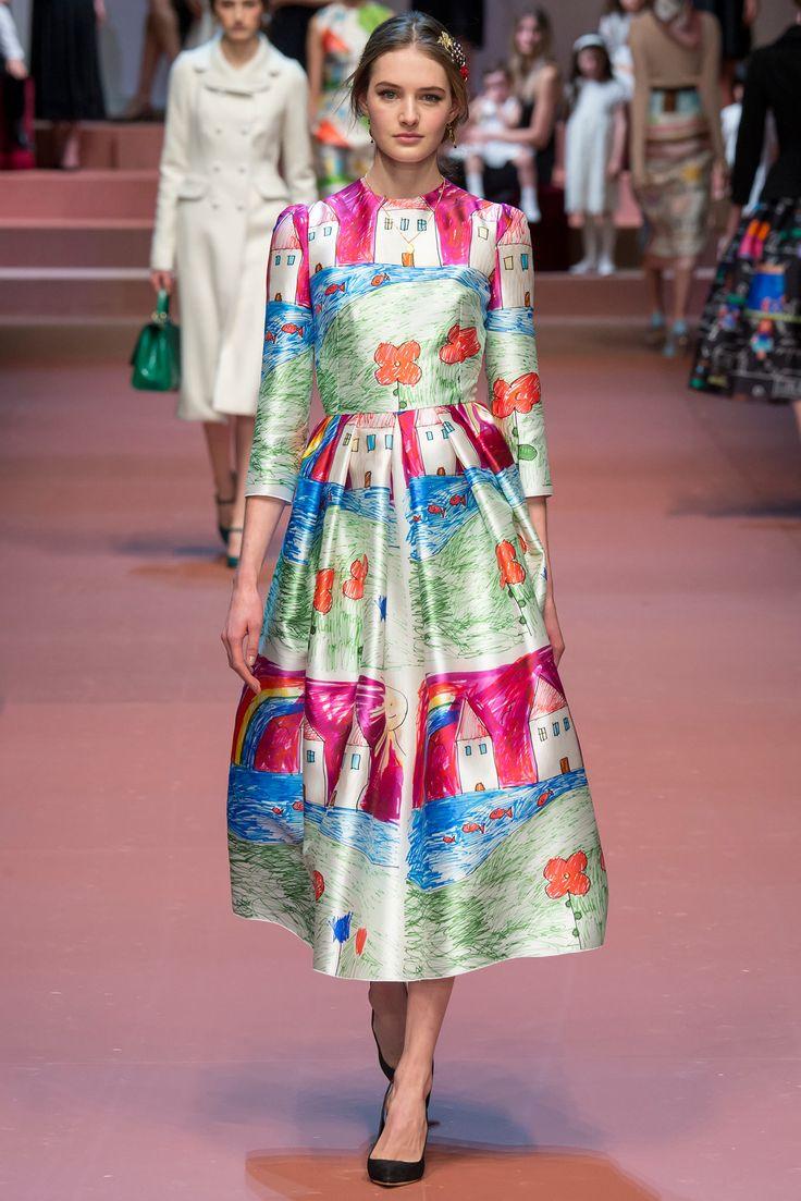 Dolce & Gabbana - Fall 2015 Ready-to-Wear - Look 87 of 91
