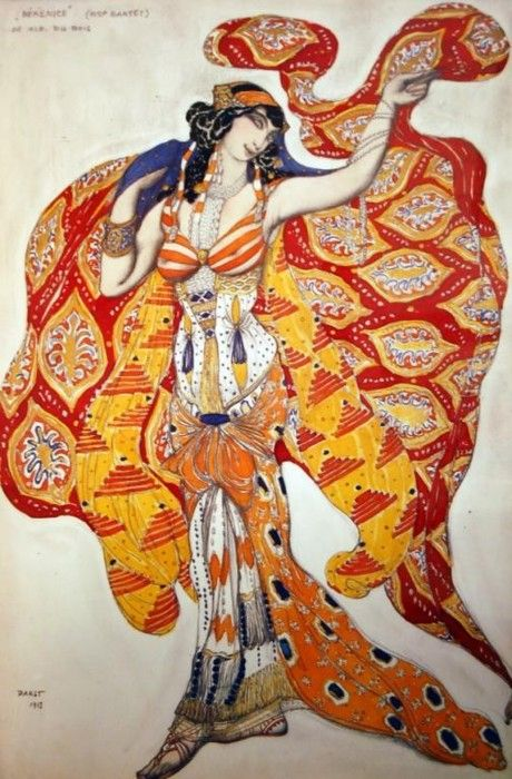 Léon Samoilovitch Bakst (10 May 1866 – 28 December 1924) was a Russian painter and scene- and costume designer