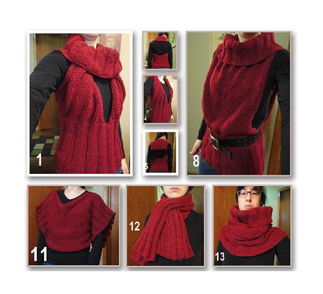 "Convertible (halter, tunic, cowl, scarf) Added to ""will try in the future"" list"
