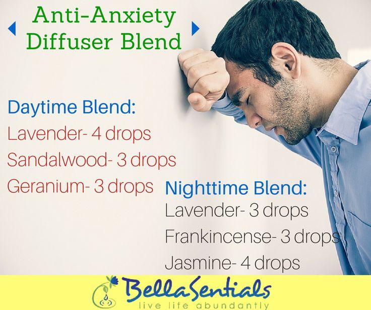 Anti-Anxiety | Essential Oil Diffuser Blend | Essential Oil Diffuser| www.bellasentials.com |