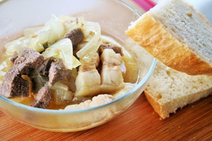 Sour pork liver and belly