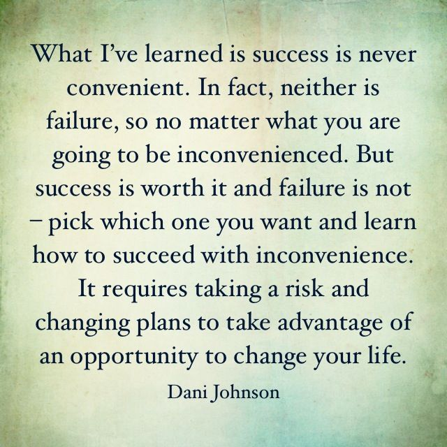 From Dani Johnson's book, First Steps to Wealth #success