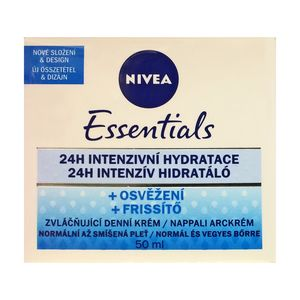 Nivea Essentials Refreshing 24h Intensive Hydrating Day Cream for Normal to Combination skin 50ml 1.69 fl oz