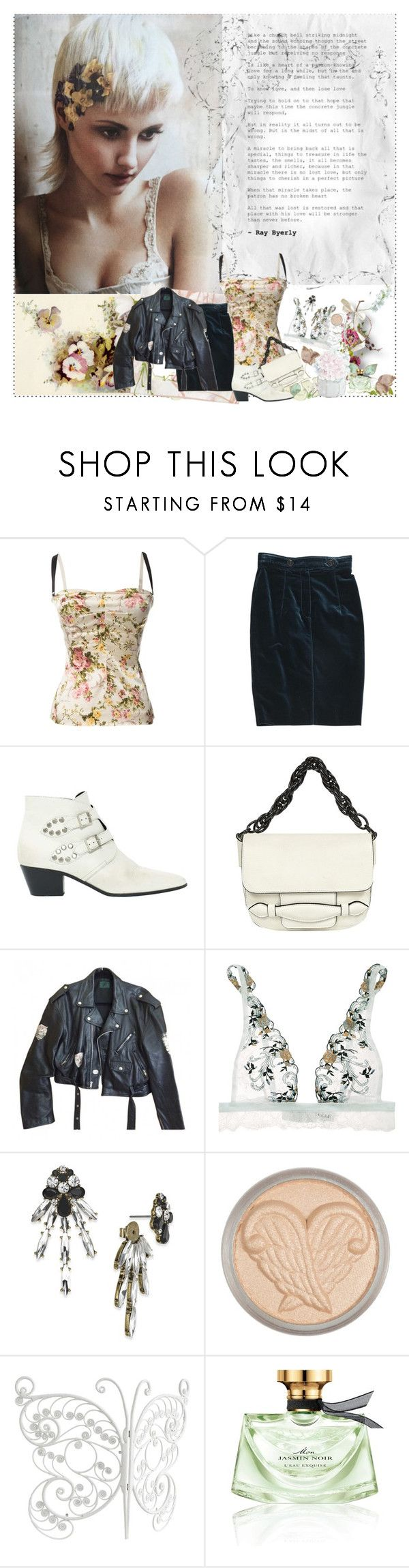 """""""Vintage Days"""" by sue-mes ❤ liked on Polyvore featuring Dolce&Gabbana, Burberry, Yves Saint Laurent, Sonia Rykiel, Jean-Paul Gaultier, La Perla, INC International Concepts, Anna Sui, PBteen and Bulgari"""