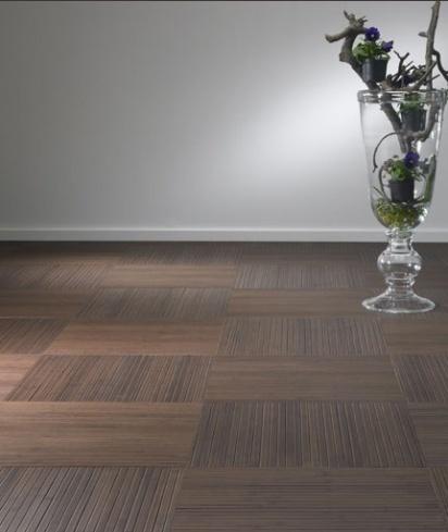 MOSO Unibamboo   bamboe toplaag   latex backing   tegels in blokpatroon   kleur colonial   BVO Vloeren