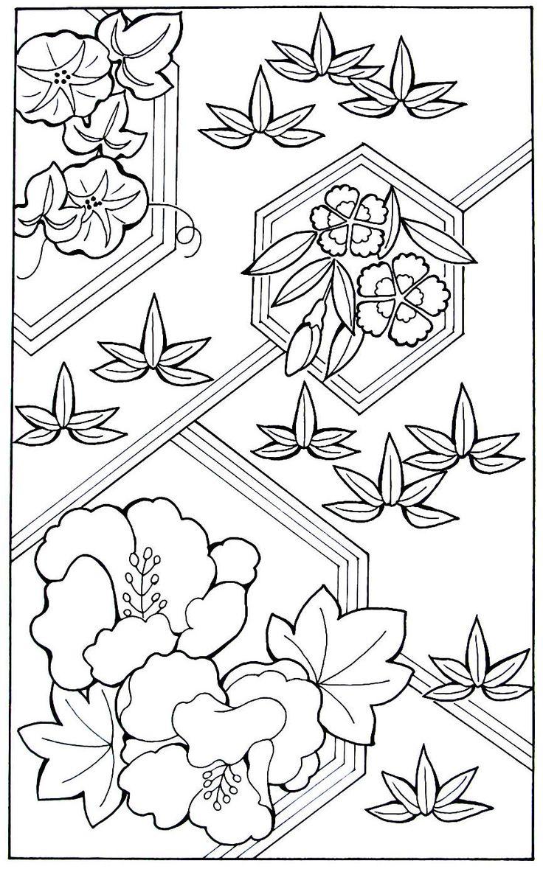 Las mejores 42 imágenes de Far Eastern Culture Coloring Book Pages ...