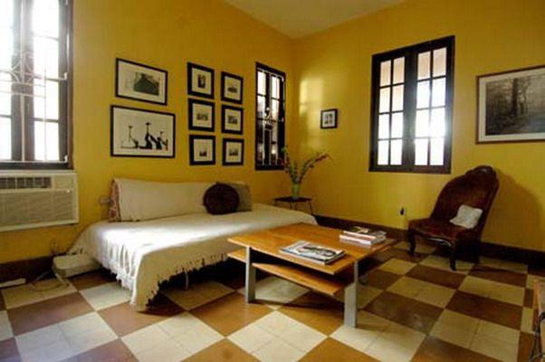 Everlasting Bedroom Painting Ideas for All: Beautiful Elegance Yellow Bedroom Paint Interior Design Ideas ~ flohomedesign.com Ideas Inspiration