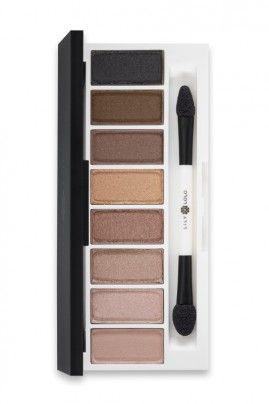 Palette de Fards à Paupières Minéraux - Lily Lolo : Lily Lolo - Fards Compacts & Palettes - Laid Bare