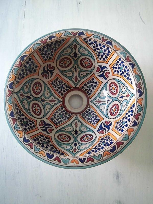 Marokkaanse waskom - Fes   Shop online bij El Kantra