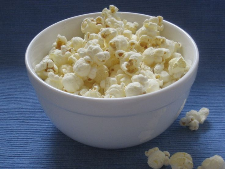 For the Salty Crunchy lovers. 1 1/2 cups AIR POPPED popcorn, sprinkled with salt. Good source of fiber and a great option over chips. 50 calories